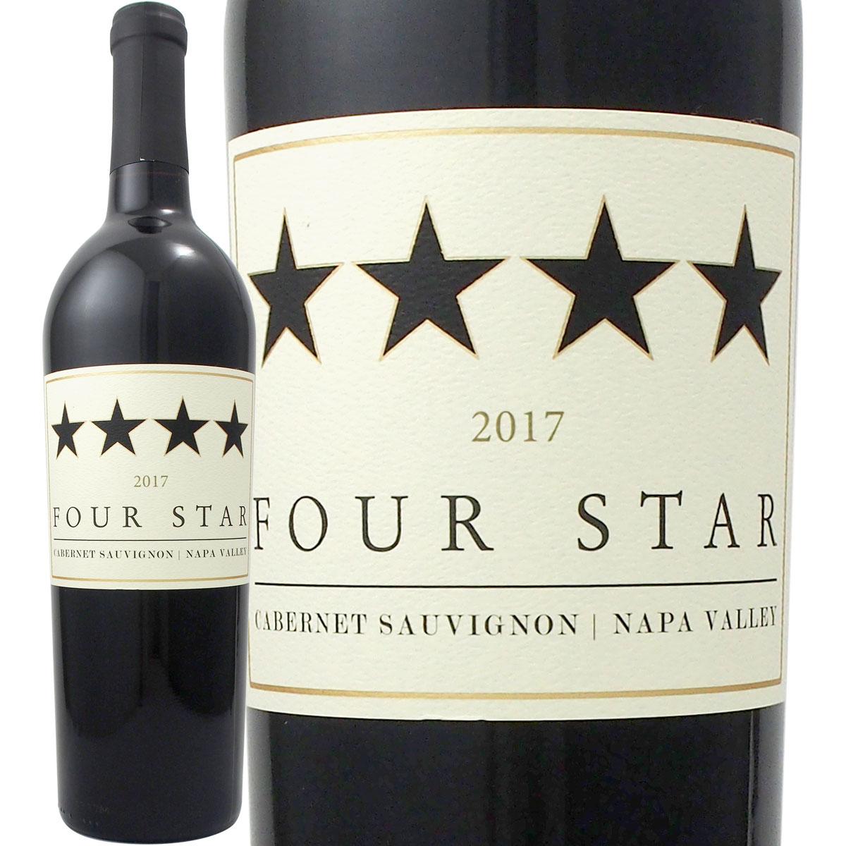 フォー・スター・ナパ・ヴァレー・カベルネ・ソーヴィニョン2018【アメリカ】【赤ワイン】【750ml】【辛口】【Four Star】【Napa Valley】