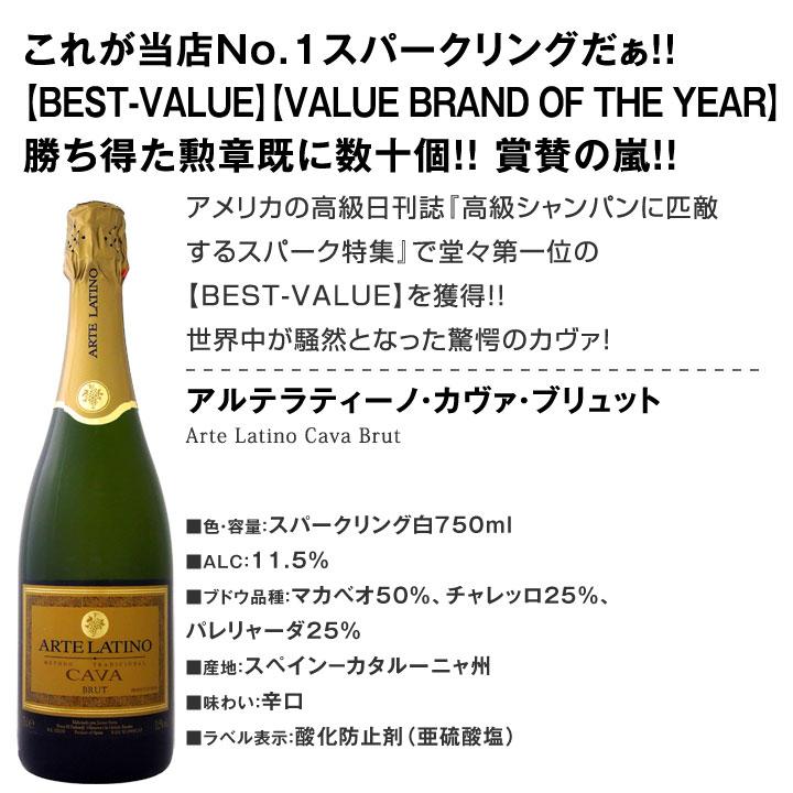 【送料無料】第7弾!シャンパン入り!辛口スパークリングワイン12本セット!
