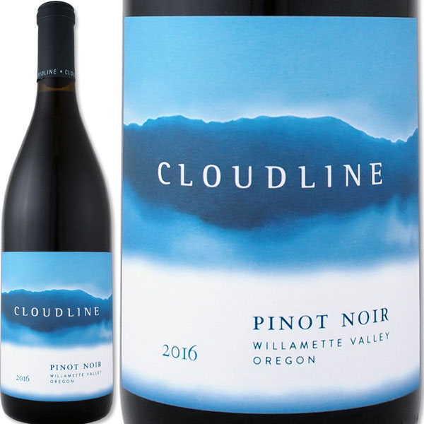 クラウドライン・ウィラメット・ヴァレー・ピノ・ノワール 2018【オレゴン】【赤ワイン】【Cloudline】【ドルーアン】