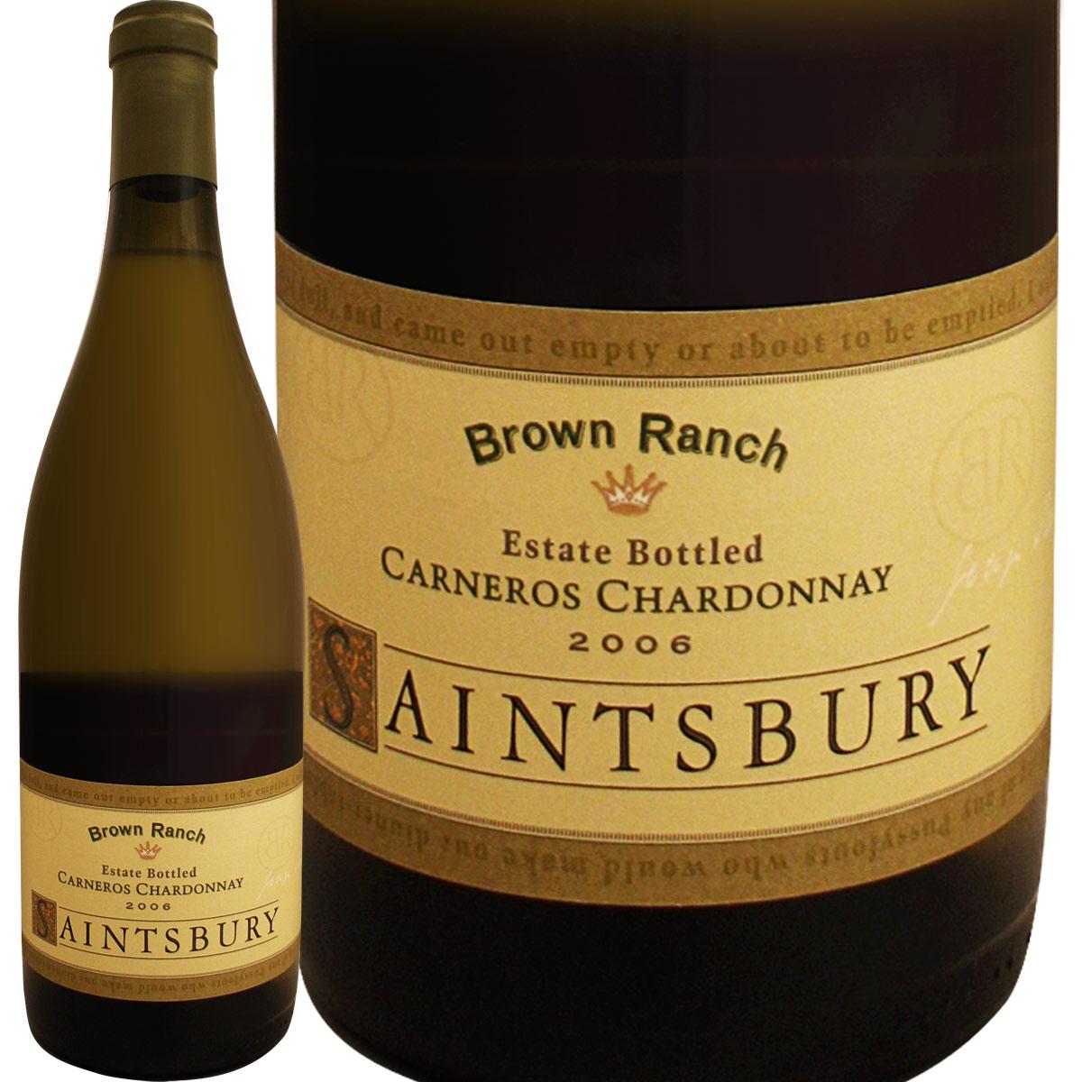 セインツベリー・ブラウンランチ・シャルドネ 2006<br><br>【アメリカ】【カリフォルニア】【ナパ・ヴァレー】【辛口】【古酒】【14年熟成】【白ワイン】【Saintsbury】