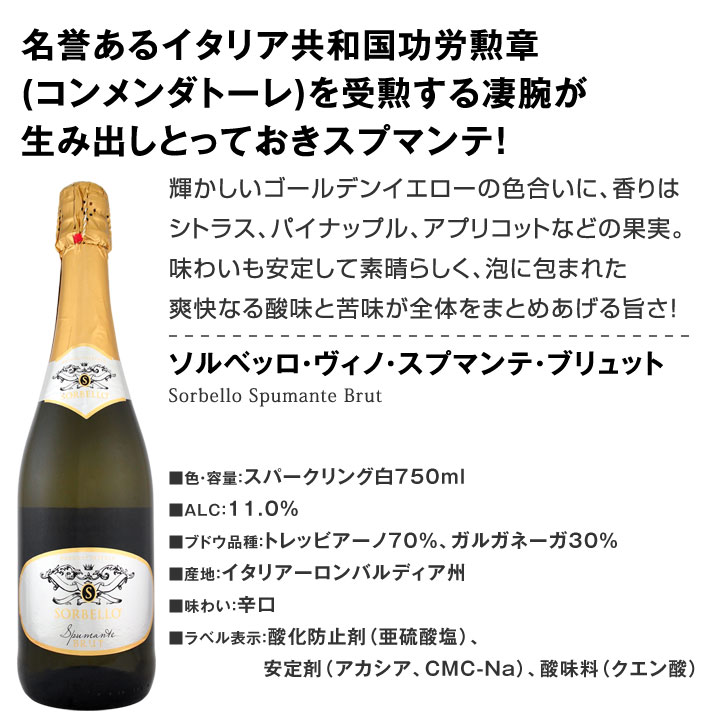 【送料無料】第79弾!泡祭り!当店厳選辛口スパークリングワイン6本スペシャルセット!