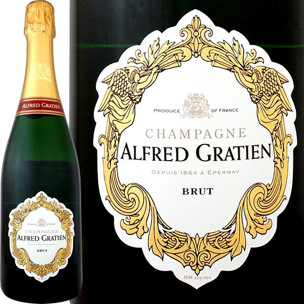 シャンパーニュ・アルフレッド・グラシアン・ブリュット【シャンパン】【フランス】【スパークリング】【750ml】【Alfred Gratien】