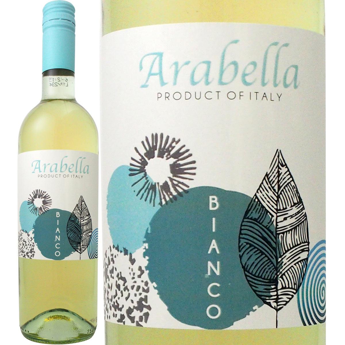 ワイン 白ワイン ボッター・アラベッラ・ビアンコ<br><br>【イタリア】【白ワイン】【750ml】【ミディアムボディ】【辛口】