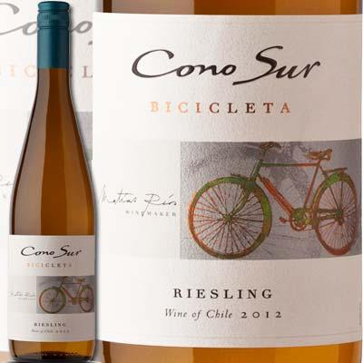 コノスル・リースリング・ビシクレタ【チリ】【白ワイン】【750ml】【辛口】【Cono Sur】