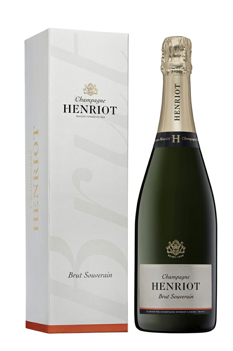 シャンパーニュ・アンリオ・ブリュット・スーヴェラン【シャンパン】【750ml】【正規】【箱入り】【Henriot】