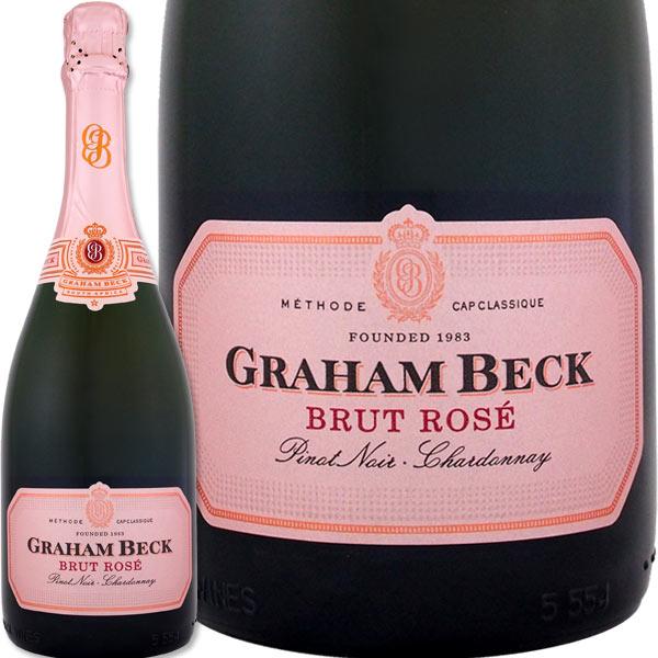 グラハム・ベック・ブリュット・ロゼ【南アフリカ共和国】【ロゼスパークリングワイン】【750ml】【辛口】【Graham Beck】