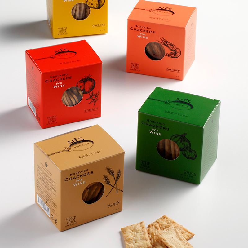 北海道クラッカー(チーズ)【ワインとの同梱可能】【ラッピング不可】【ギフトBOX不可】