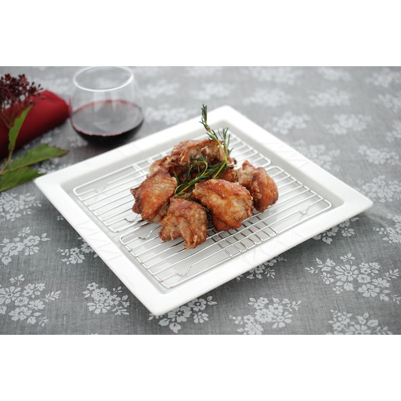 スクエアディッシュ/クーラーディッシュ(日本製)