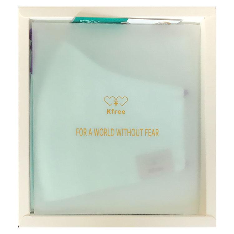 洗えるW機能マスクセット 99%カット 女性用 フィルター交換式 普通サイズ 布マスク KEIAN 恵安 KNFMASKS