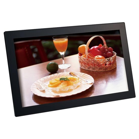 恵安 21.5インチ 大画面液晶 デジタルフォトフレーム ブラック KDPF2152RT