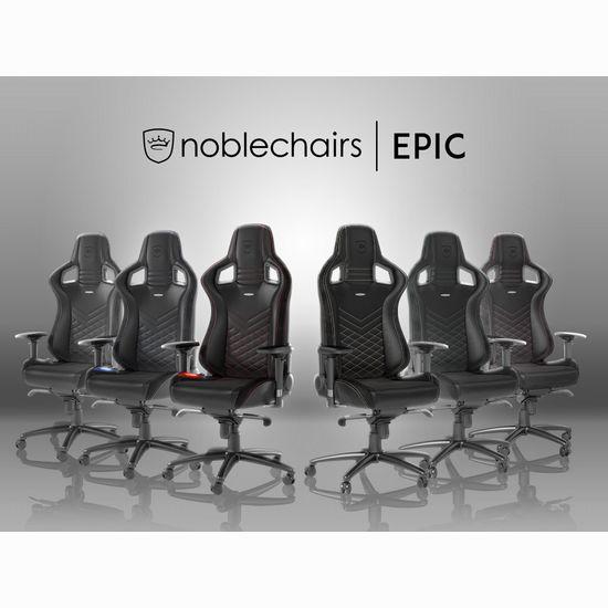 noblechairs EPIC ゲーミングチェア PUレザー