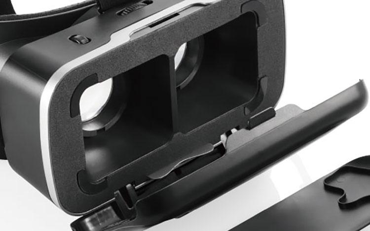 【1000円分ポイント付】ELECOM VRゴーグル DMMスターターセット VR 動画 ブラック エレコム VRG-D02PBK