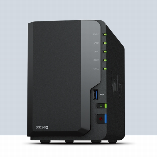 Synology DiskStation DS220+ ガイドブック付き 2ベイNAS 2年保証
