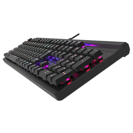 KEIAN GRAXIA GX-KB01K-BRGB RGBバックライト ゲーミング メカニカルキーボード 青軸