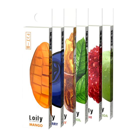 Lolly ローリー Flavor 6味セット ニコチン ゼロ タール ゼロ 電子タバコ 禁煙グッズ 使い捨てタイプ 吸引回数 300回 LOLLY-FLAVOR
