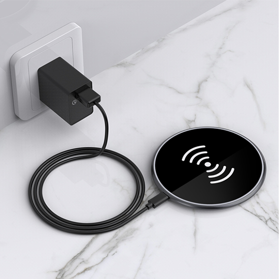恵安 スマホ ワイヤレス チャージャー 15W 対応 qi認証 急速充電対応 KACH-15W 送料無料