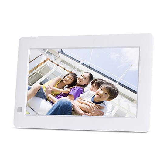 恵安 7インチ デジタルフォトフレーム ホワイト KD71RD-W