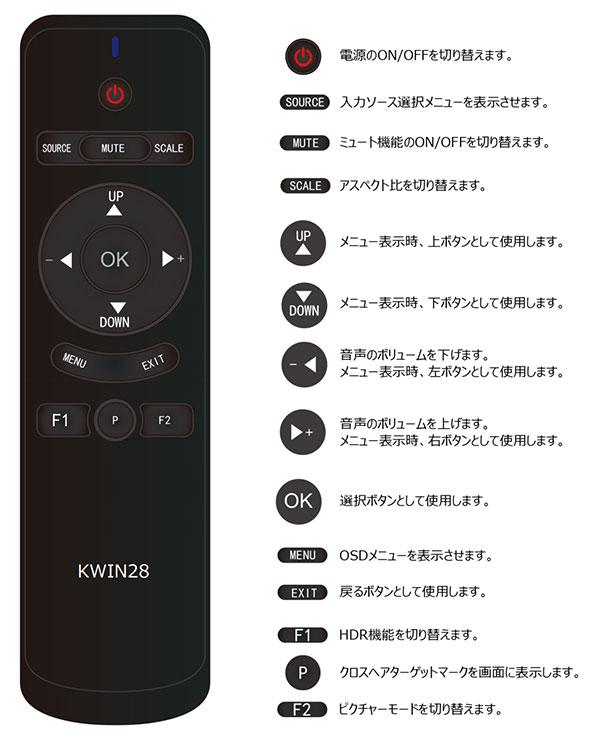 28インチ 4Kモニター ノングレア HDR対応 液晶モニター パソコン ゲーミングモニター PCモニター 28型 ディスプレイ KEIAN 恵安 KWIN28
