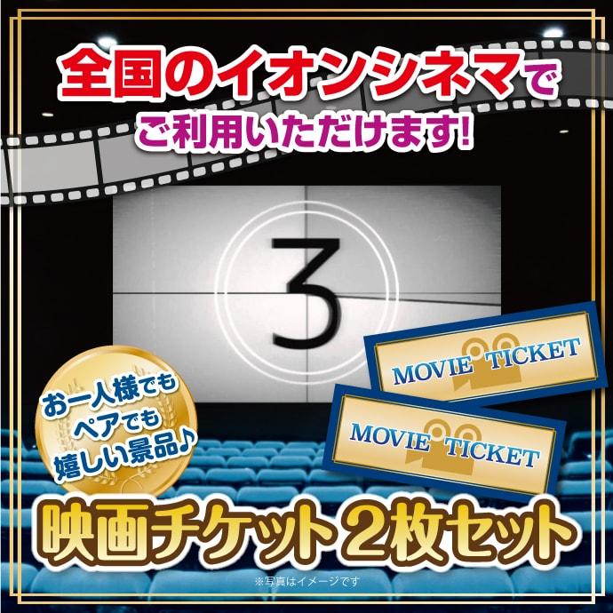 [パネもく!]映画チケット 2枚セット(ぺア)(目録・A4パネル付)[当日出荷可]