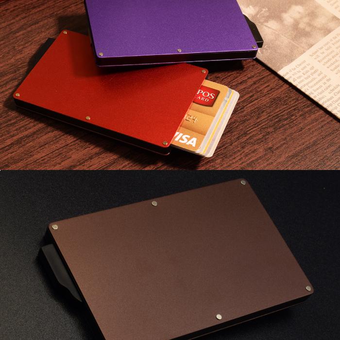 スライド式カードケース