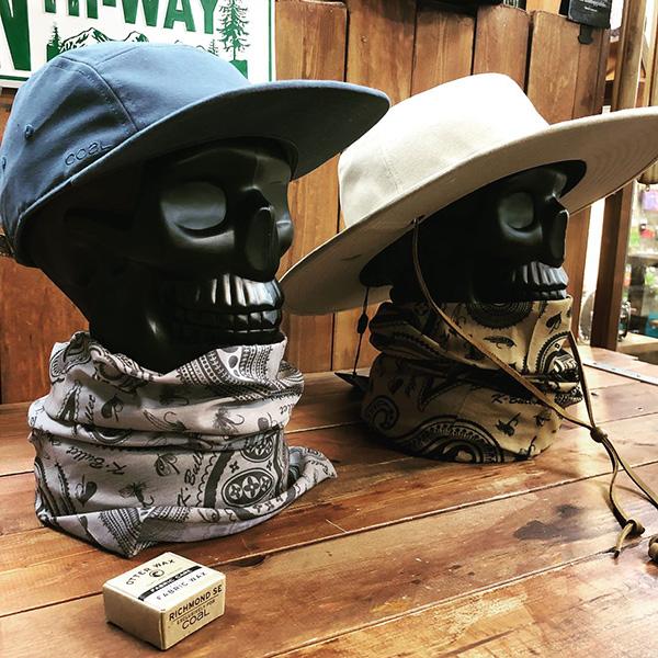 NEW フェイスマスク(毛針+ペイズリー柄)