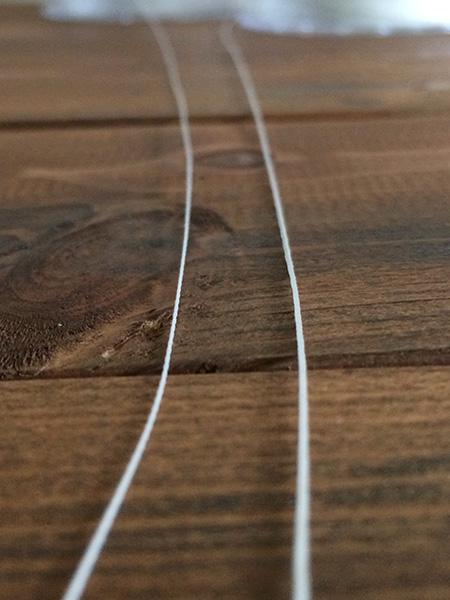 New PEブレイドライン 34LB(ホワイト/オレンジ/イエロー)[E1 002]
