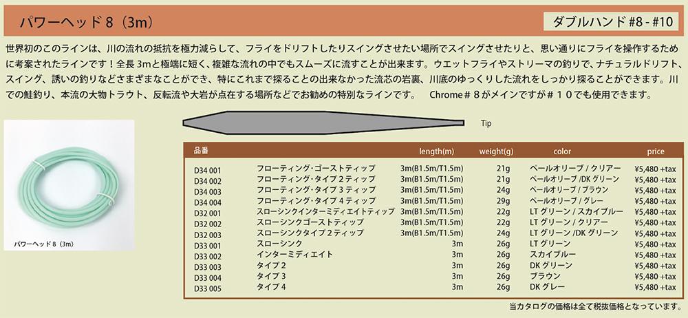 パワーヘッド8 3m(#8-#10)