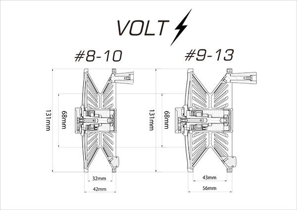「K.Bullet VOLT Fly Reel」シリーズ