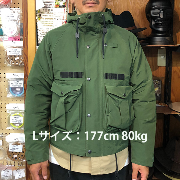 半額SALE【SHAKU HUNTER】 FISHING JACKET VER.2 (尺ハンター)