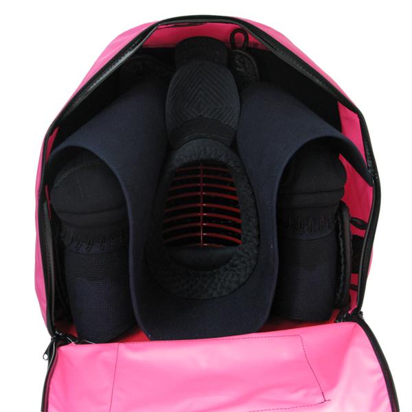 リュック式ボストン防具袋 少年用(ピンク)