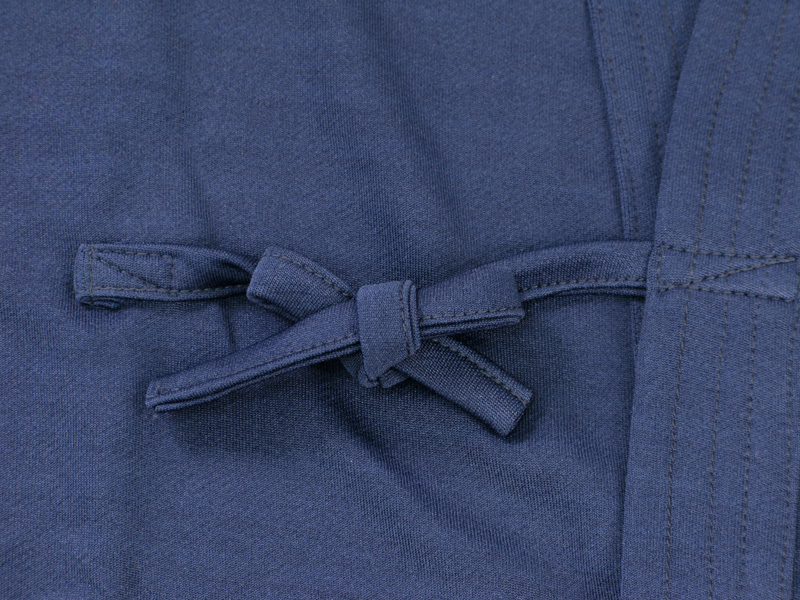 紺ジャージ剣道着+紺テトロン剣道袴セット 【剣道 剣道着 袴 セット】