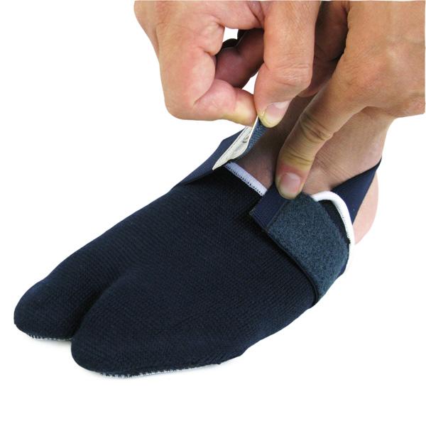 剣道用 足袋型サポーター(裏:革製)※ゆうパケット対応※