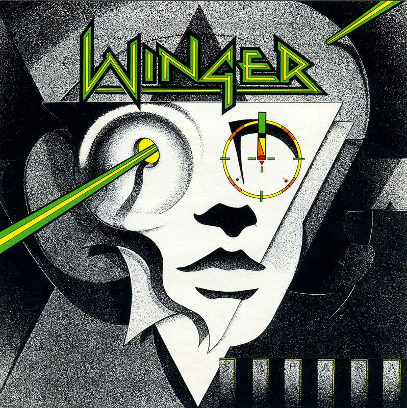 WINGER/ウィンガー 88年作 デビュー作 HEADED FOR A HEARTBREAK
