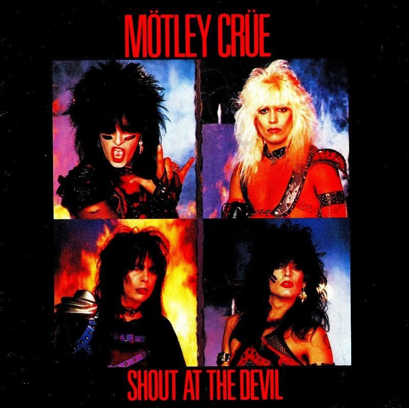 MOTLEY CRUE/SHOUT AT THE DEVIL モトリー・クルー リマスター盤