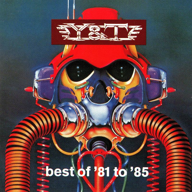 Y&T/BEST OF '81 TO '85 国内盤 ベスト・オブ・'81トゥ'85 未発表曲入り