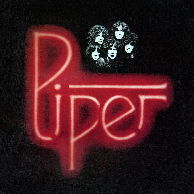 PIPER/パイパー 77年作 国内盤 ステッカー付 ビリー・スクワイア