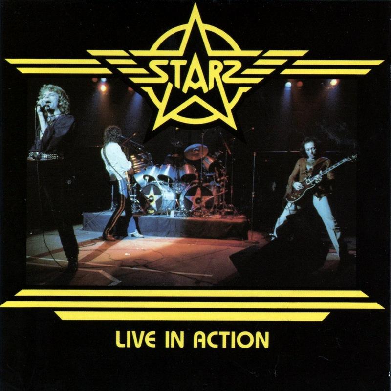 STARZ/LIVE IN ACTION スターズ ライヴ・イン・アクション 77年・78年音源