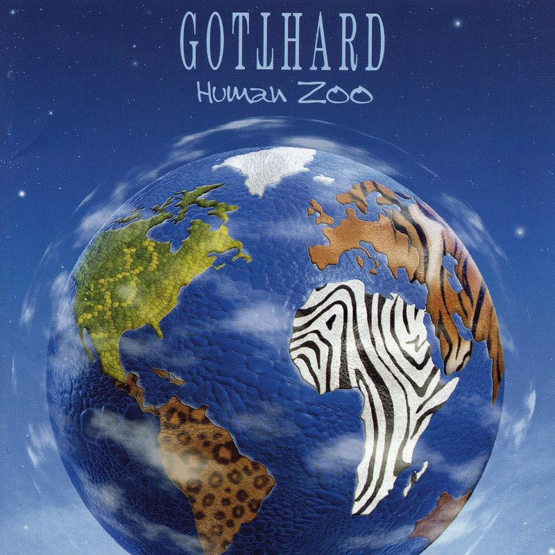 GOTTHARD/HUMAN ZOO ゴットハード ヒューマン・ズー 2003年作 国内盤