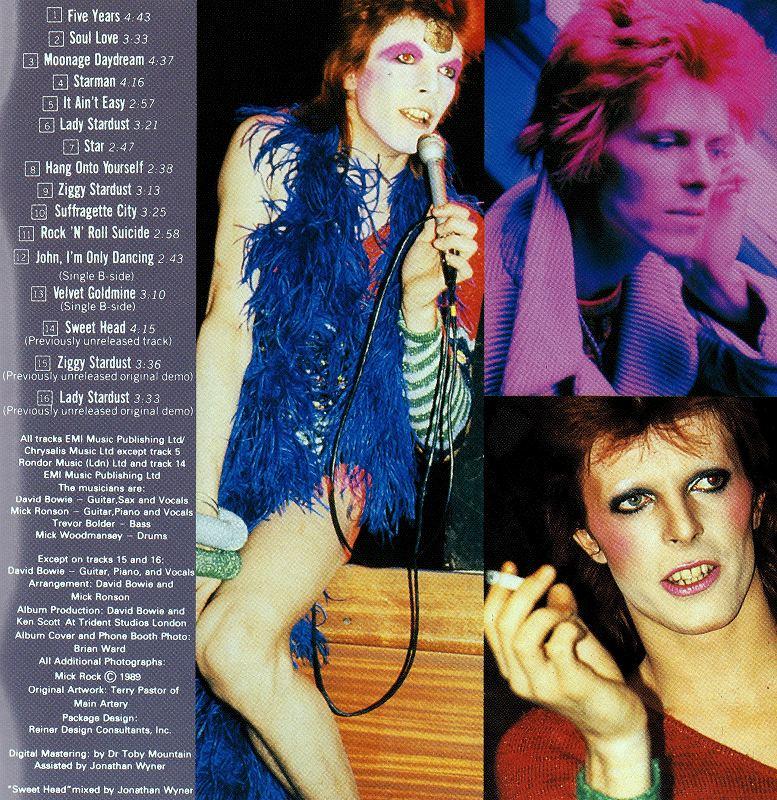 DAVID BOWIE/ZIGGY STARDUST ジギー・スターダスト 72年作 国内盤
