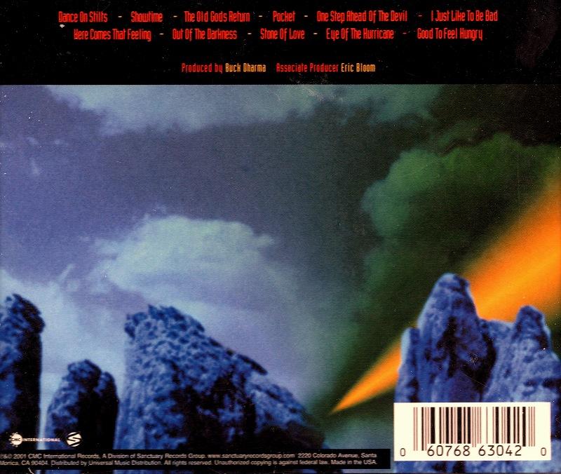 BLUE OYSTER CULT/CURSE OF THE HIDDEN MIRROR 2001年作 新品