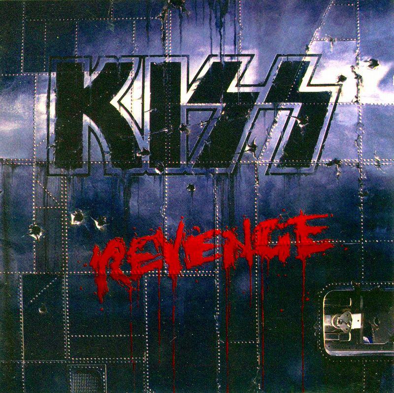 KISS/REVENGE キッス リヴェンジ 92年作 国内初回盤 エリック・カー追悼盤