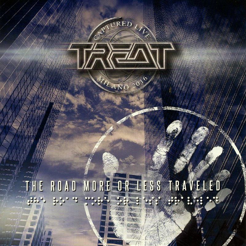 TREAT/THE ROAD MORE OR LESS TRAVELED 国内盤 トリート CD+DVD