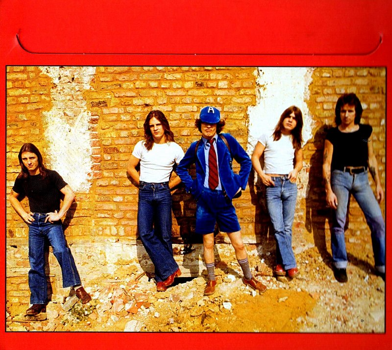 AC/DC '74 JAILBREAK 84年リリース作 ミニ・アルバム BON SCOTT デジパック