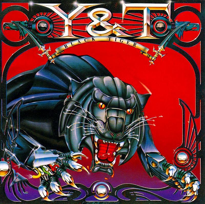 Y&T/BLACK TIGER ブラック・タイガー リマスター盤 82年作 FOREVER