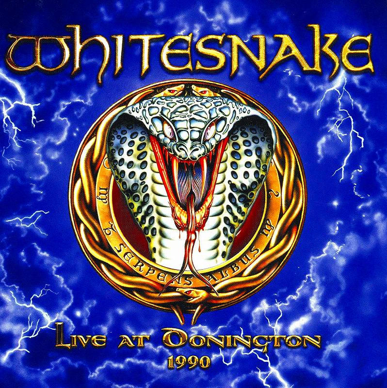 WHITESNAKE/LIVE AT DONINGTON 1990 ホワイトスネイク 国内紙ジャケ盤