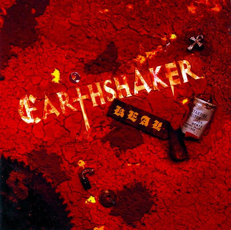 EARTHSHAKER/REAL アースシェイカー リアル 93年作 ステッカー付き