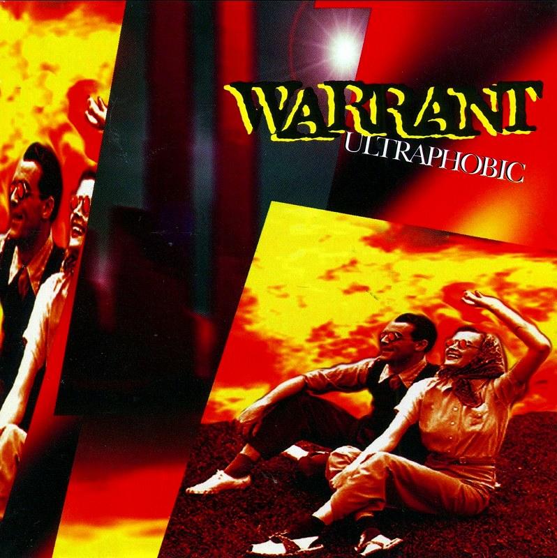 WARRANT/ULTRAPHOBIC ウォレント ウルトラフォービック 95年作 国内盤