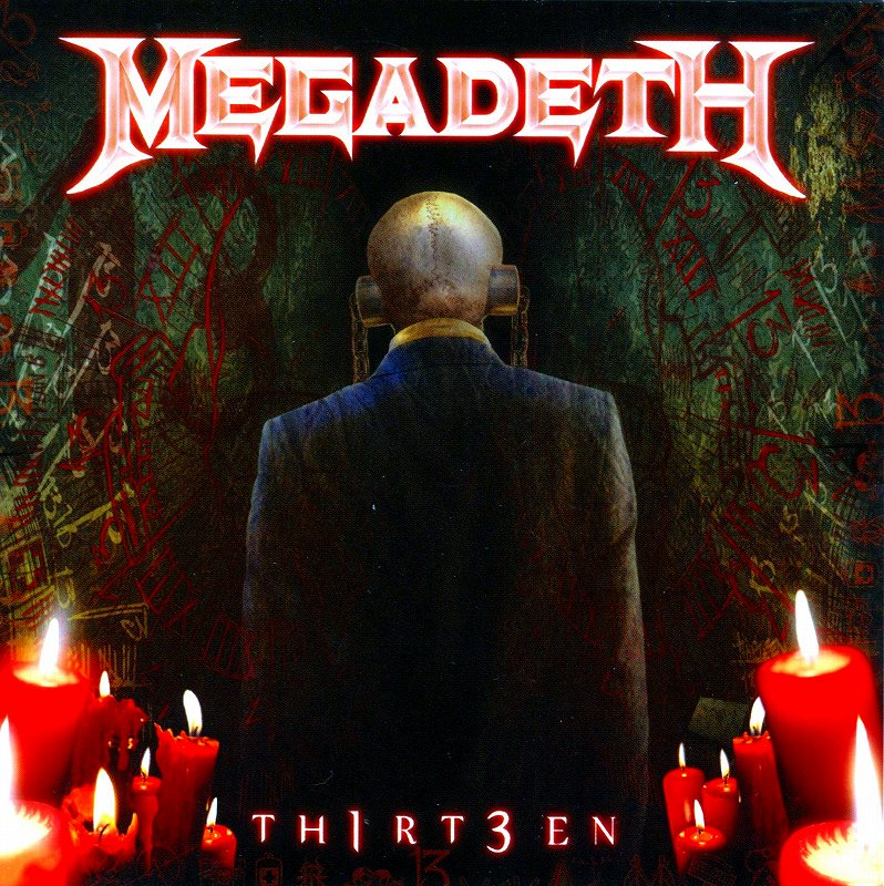 MEGADETH/TH1RT3EN 13 サーティーン メガデス 2011年作 通算13作目