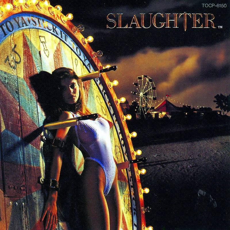 SLAUGHTER/STICK IT TO YA 90年作 スローター 欲望のターゲット 国内盤
