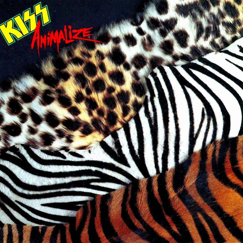 KISS/ANIMALIZE キッス アニマライズ 84年作 ヘヴンズ・オン・ファイアー